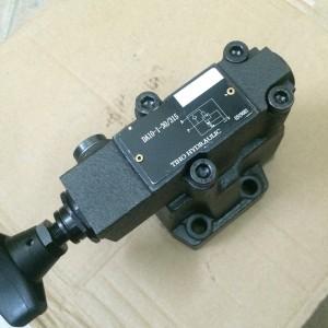 Van xả tải 2 cấp điều khiển tay DA10-1-30/315
